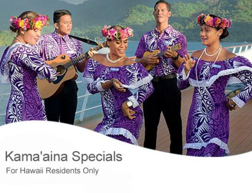 Kama'aina Specials on the Paul Gauguin